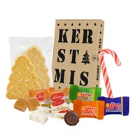 WISHES POST Kerstpresentje - Brievenbusdoosje met o.a. Tony's Chocolonely
