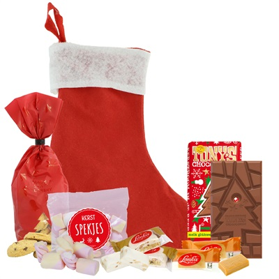 SANTA'S HOME STOCKING