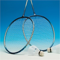 MADELS  Badmintonset in handige tas