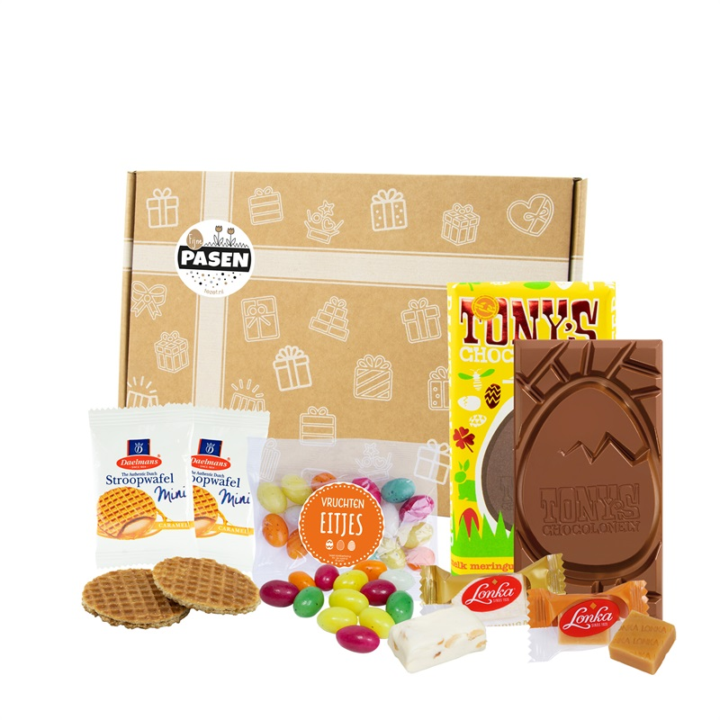 TONY'S EASTERMAIL Brievenbusgeschikt met o.a. Tony's chocoloneley - Paasattentie