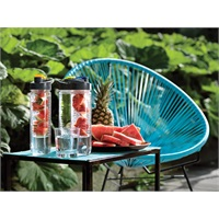WATERFLES MET INFUSER Trendy Titan fles met fruit infuser