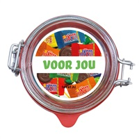 TONY WECKPOT, 800 ml Tony's Chocolonely in een weckpotje