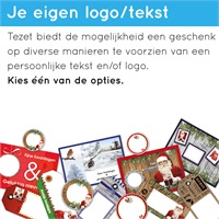 HOLIDAY  Kerst attentie - Kersttas met o.a. cacao truffels